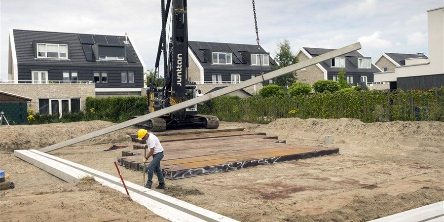 aanbod van nieuwbouwwoningen